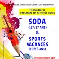 Soda et Sports Vacances Grand Saint Emilionnais