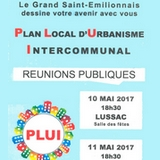 Plan local d'urbanisme PLUI 2017 Grand saint emilionnais